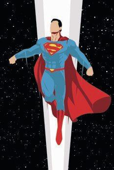 Poster de artă Superman - Super Charge