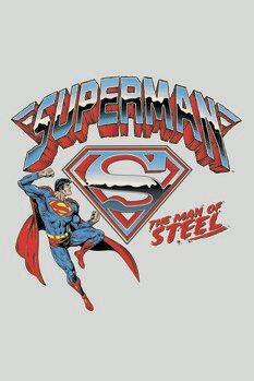Poster de artă Superman - The man of steel