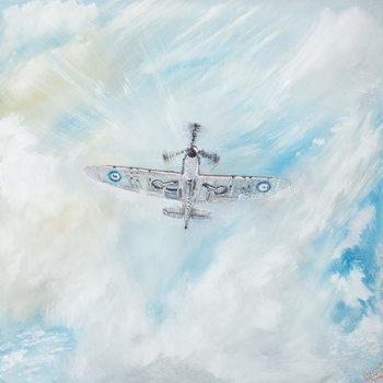 Obrazová reprodukce  Supermarine Spitfire, 2014,