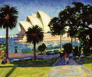 Sydney Opera House, PM, 1990 Kunstdruck