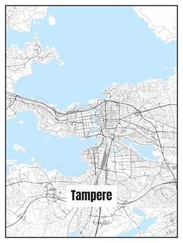 Mapa Tampere