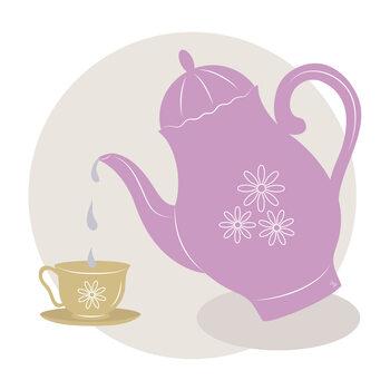 Ilustrace Teatime