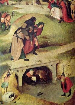 Umelecká tlač Temptation of St. Anthony, detail