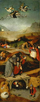 Temptation of St. Anthony (left hand panel) Kunstdruck
