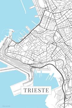 Mappa Terst white