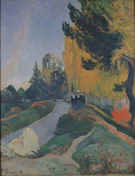 The Alyscamps, Arles, 1888 Kunstdruk
