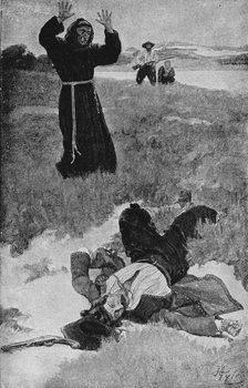 Obrazová reprodukce The Assassination of La Salle