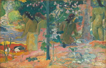 Kunsttryk The Bathers, 1897