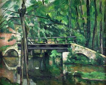 Kunstdruck The Bridge at Maincy, or The Bridge at Mennecy, or The Little Bridge