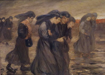 The Coal Graders, 1905 Reproduction de Tableau