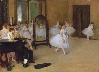Obrazová reprodukce The dance class, 1871