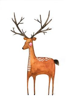 Ilustracja The Deer
