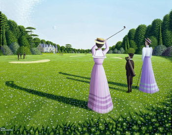 Reproduction de Tableau The Fairway, 1996