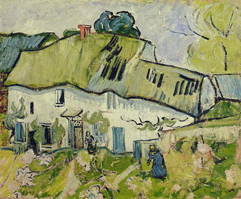 The Farm in Summer, 1890 Kunsttryk