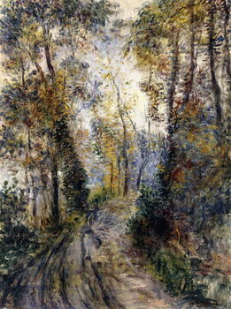 Reprodukcja The Forest Path, 1871