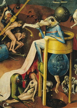 The Garden of Earthly Delights, 1490-1500 Reproduction d'art