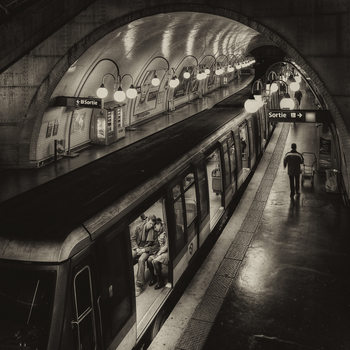 Photographie d'art The last metro