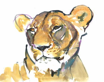 The Lioness Kunsttryk