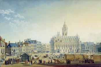 Obrazová reprodukce  The Main Square, Middelburg, 1812