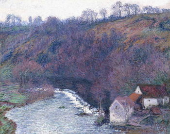 Reproduction de Tableau The Mill at Vervy, 1889