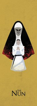 Plakat The Nun - Ondt bagud