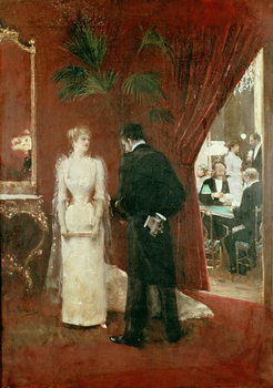 The Private Conversation, 1904 Kunstdruck