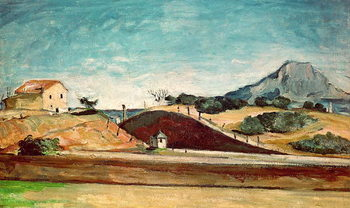 The Railway Cutting, c.1870 Reproduction d'art