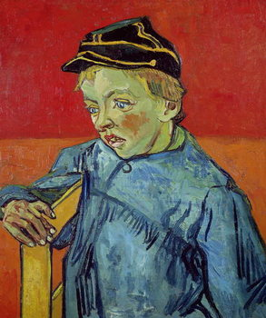 The Schoolboy, 1889-90 Kunstdruck