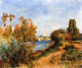 Reprodukcja The Seine at Argenteuil, 1888