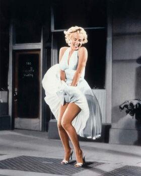 Kunstdruck The Seven Year itch  directed by Billy Wilder, 1955