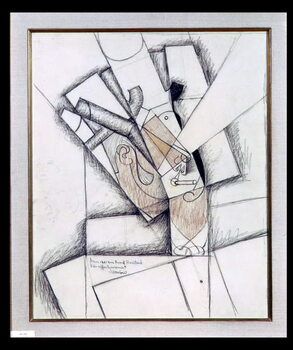 Artă imprimată The Smoker, 1912