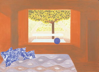 The Studio Window, 1987 Kunstdruk