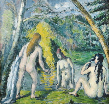 The Three Bathers, c.1879-82 Kunsttryk
