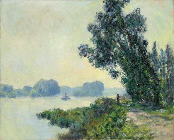 The Towpath at Granval; Le chemin de halage a Granval, 1883 Reproduction de Tableau