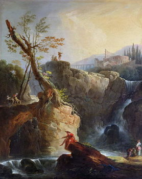 Reproducción de arte  The Waterfall, 1773