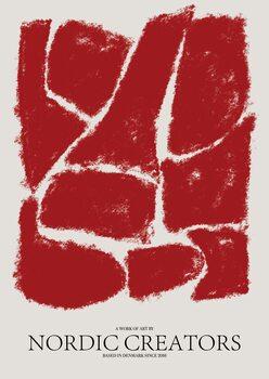 Ilustrácia Things fall apart - Red