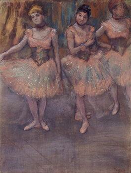 Obrazová reprodukce Three Dancers before Practice, c.1880