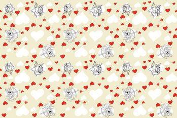 Εκτύπωση τέχνης Tom a Jery - Valentine's day