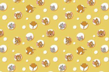Εκτύπωση τέχνης Tom and Jerry - I love Cheese