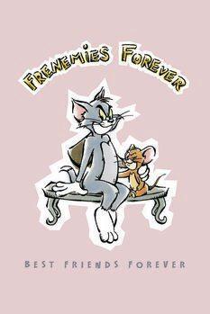 Poster Tom und Jerry - Beste Freunde für immer
