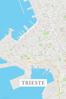 Mappa Trieste color