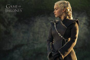 Művészi plakát Trónok harca  - Daenerys Targaryen