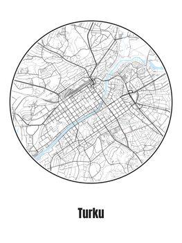 Mapa Turku