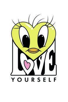 Umělecký tisk Tweety - Love