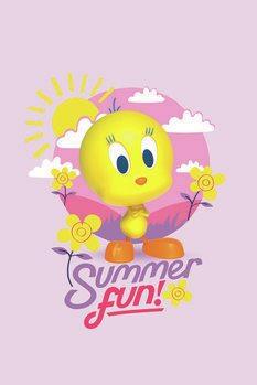 Umělecký tisk Tweety - Summer fun