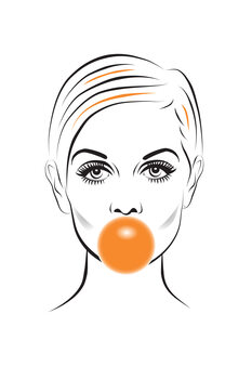 Illustration Twiggy