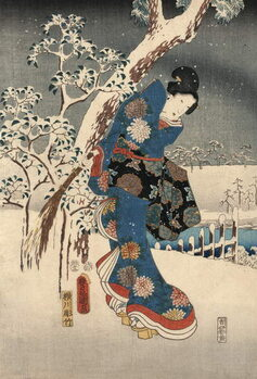 Reprodukcja Ukiyo-e Print