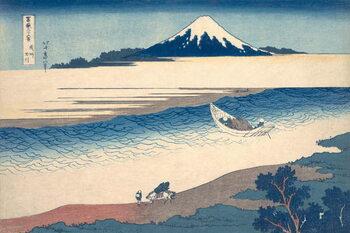 Obrazová reprodukce Ukiyo-e Print of the Tama River