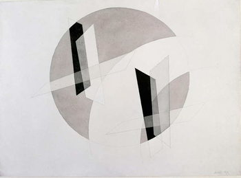 Untitled Mixed Media by Laszlo Moholy-Nagy (Moholy Nagy)  New York, Museum of Modern Art Kunstdruck