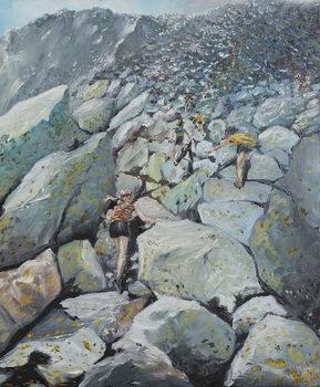 Uphill Fell race, 2013, Kunstdruck